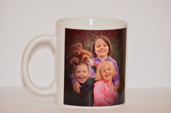 Create your own Personalized Mug with Pictures, Logos, and Text.
