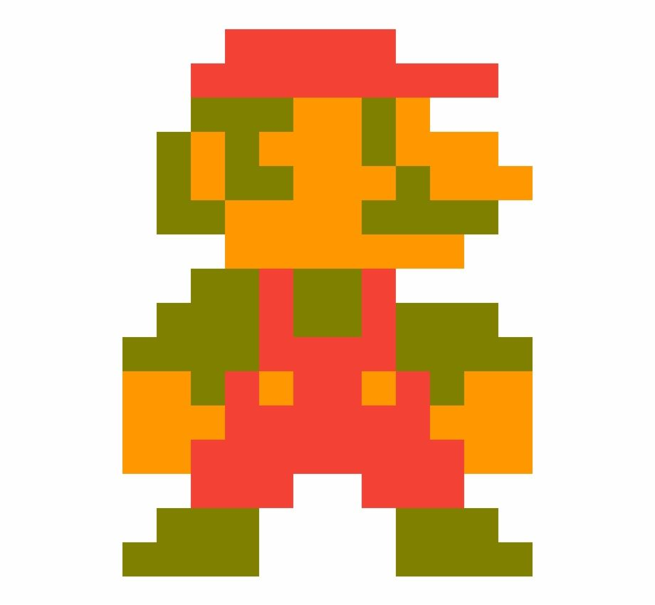 8 Bit Mario Classic Mario Is A Free Transparent Png Image Search And Find More On Vippng Pixel Art 8 Bit Classic
