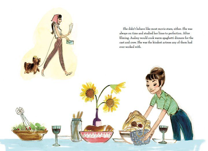 Just Being Audrey - Illustrated by Julie Denos
