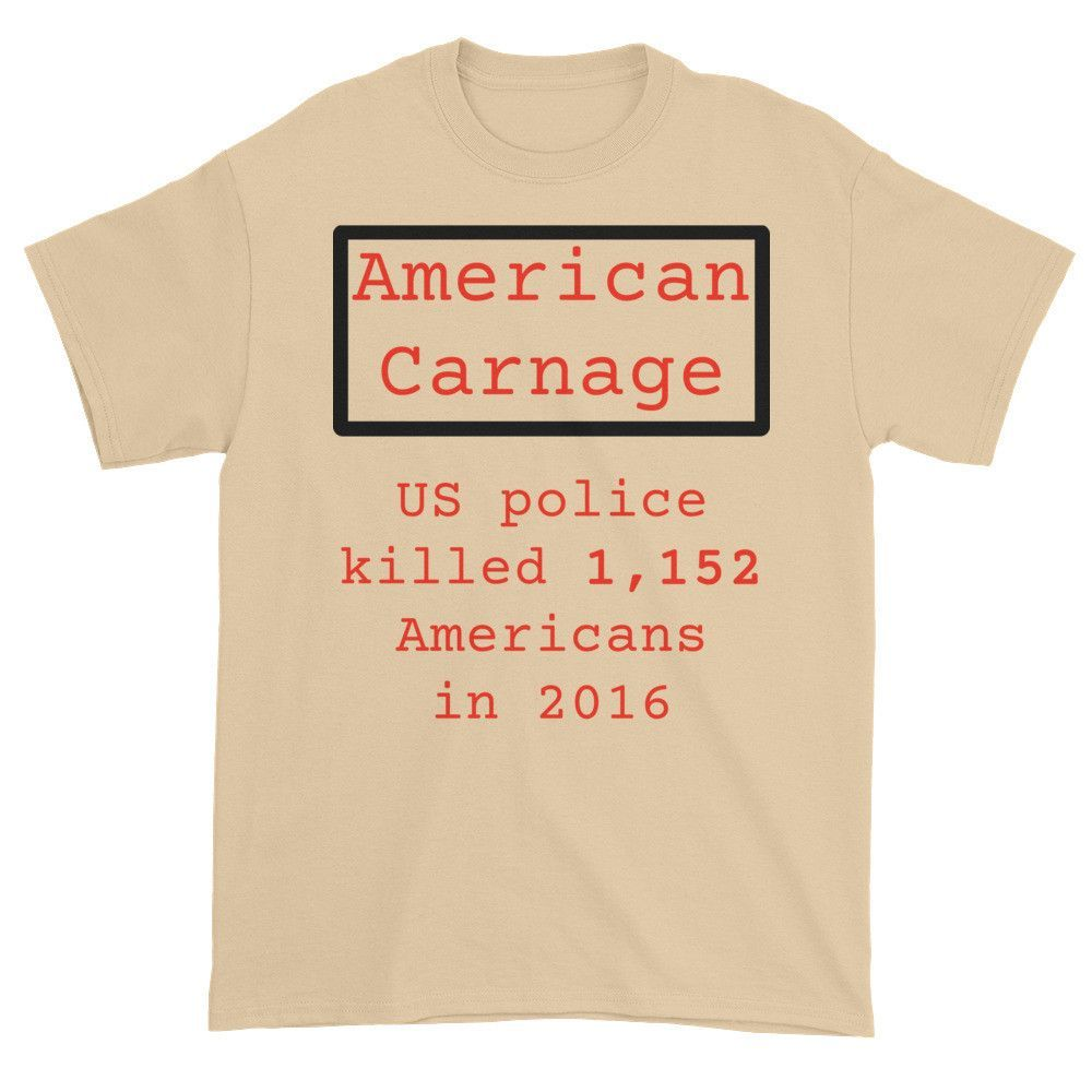 American Carnage - Police Killings T-shirt