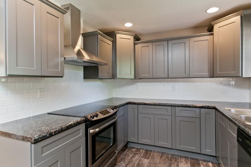 Best Stone Grey Shaker Kitchen Cabinets Shaker Cabinets 400 x 300