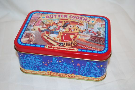 Hey, I found this really awesome Etsy listing at https://www.etsy.com/listing/271246997/vintage-tokyo-disneyland-butter-cookies