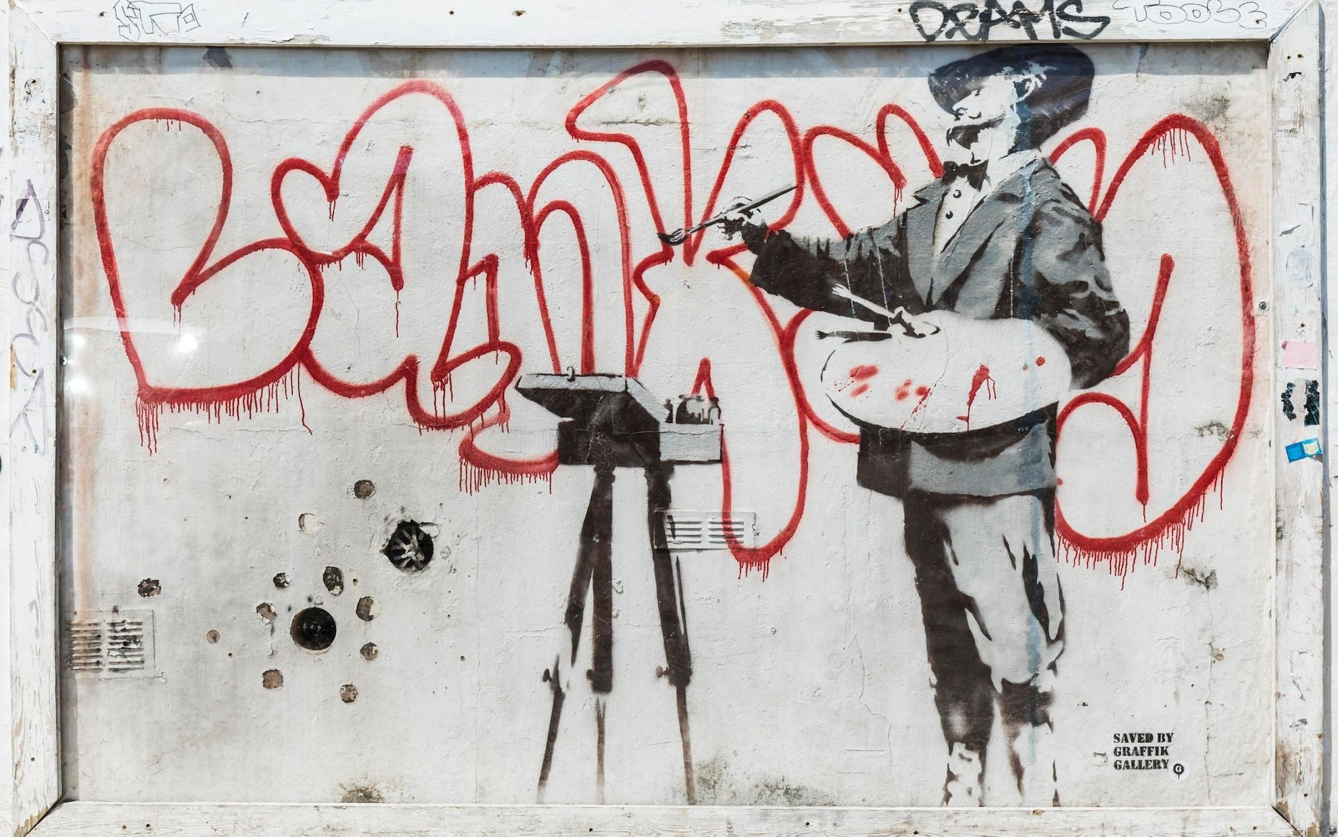 Would a banksy make you buy a home graffiti is the latest must have
