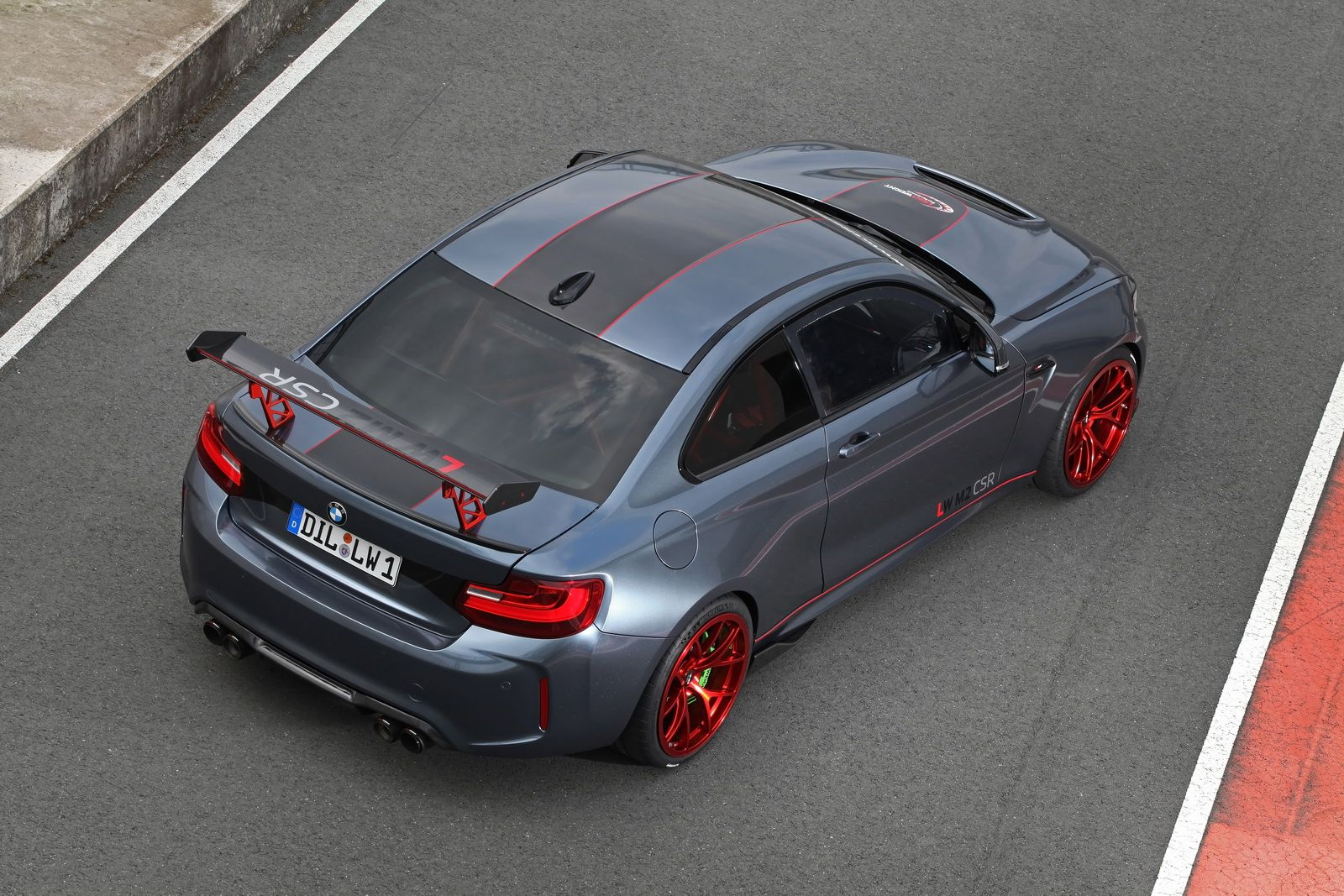 BMW M2 CSR Gets A 590HP S55 Motor The idea of placing an S55 engine