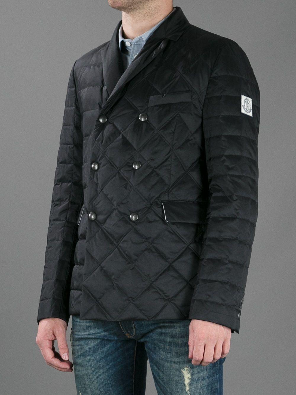 7e6c66b98cb4 Moncler Gamme Bleu Quilted Jacket.