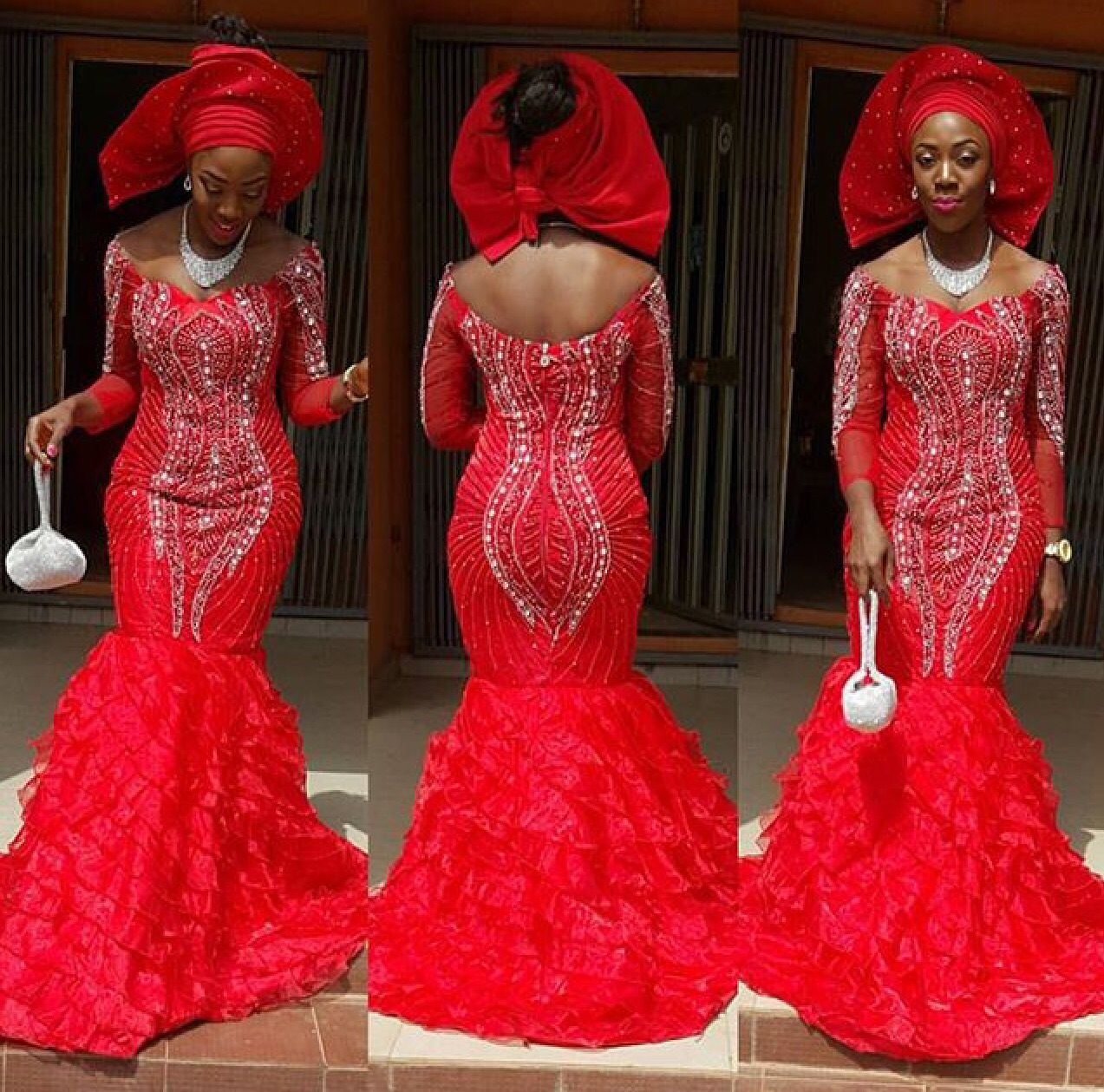 Lace dress nigeria  Love this  Things to Wear  Pinterest