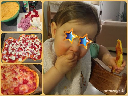 pizza f r das baby rezept babybrei rezepte rezepte. Black Bedroom Furniture Sets. Home Design Ideas