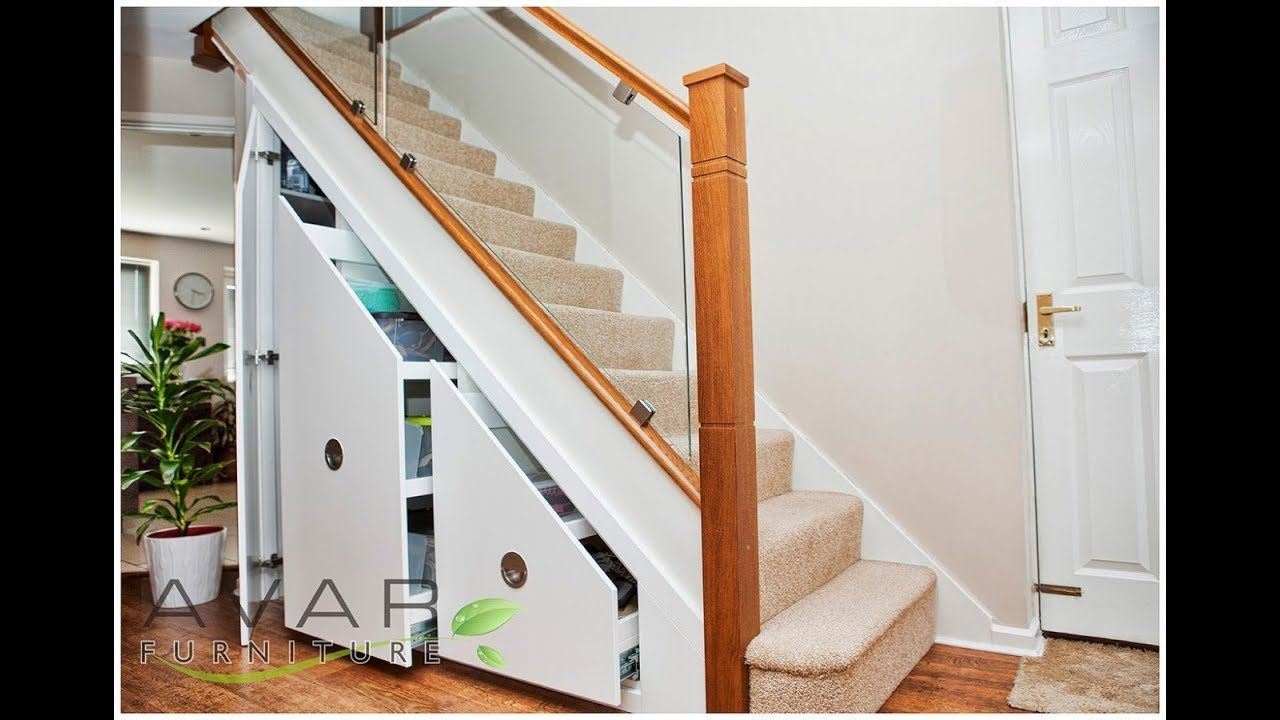 Top 40 Under Staircase Storage Design Ideas Unit Ark Ikea