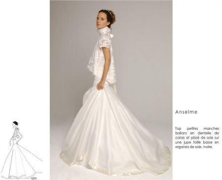 Robe Delphine Manivet : Anselme   Dresses, Wedding dresses, Fashion