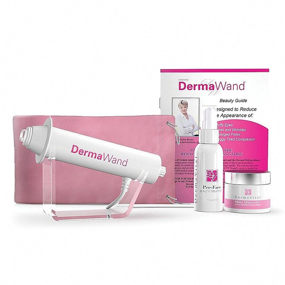 Dermawand Deluxe Anti Aging Skin Care System White Zipboard With Images Skin Care System Natural Anti Aging Skin Care Anti Aging Skin Care