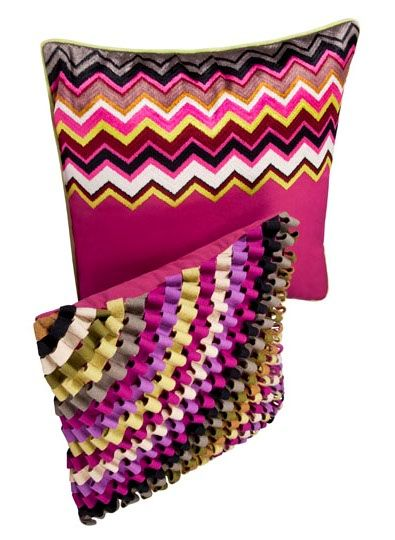 Missoni Ribbon Pillow From Target Ribbon Work Ribbon
