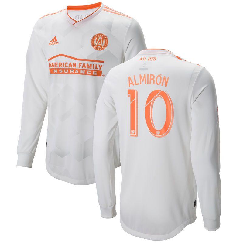 the best attitude 3ae58 50aa4 Men's adidas Miguel Almiron White Atlanta United FC 2018 ...