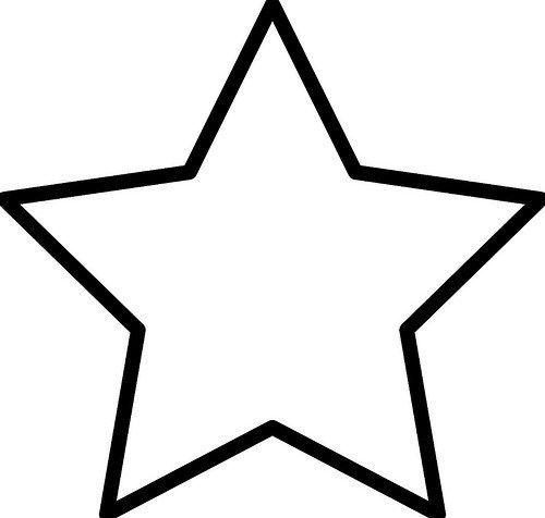 Imágenes de Estrellas para Colorear e Imprimir | Diseño