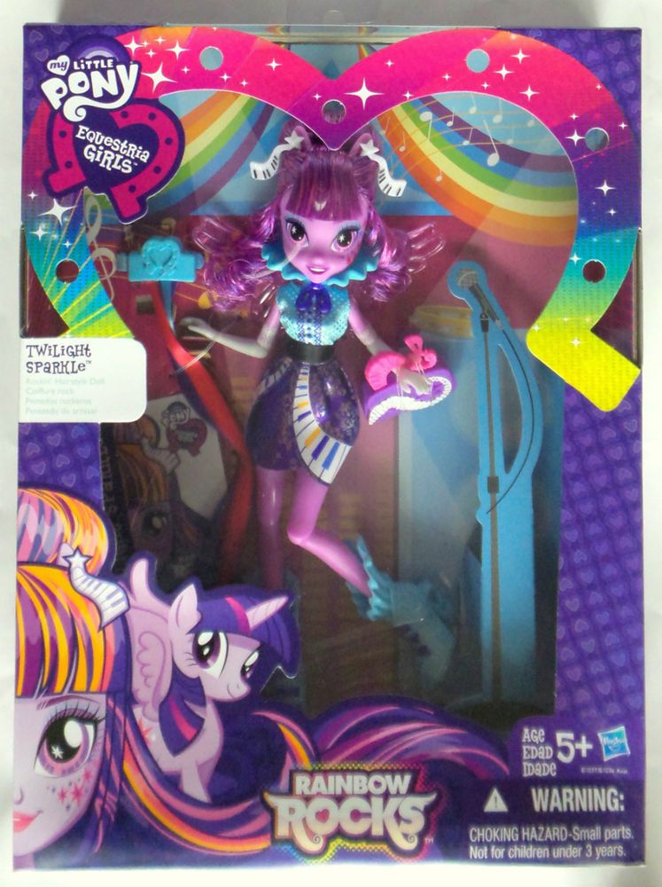 My Little Pony Equestria Girls Rainbow Rocks Twilight Sparkle - Rockin hairstyles dolls