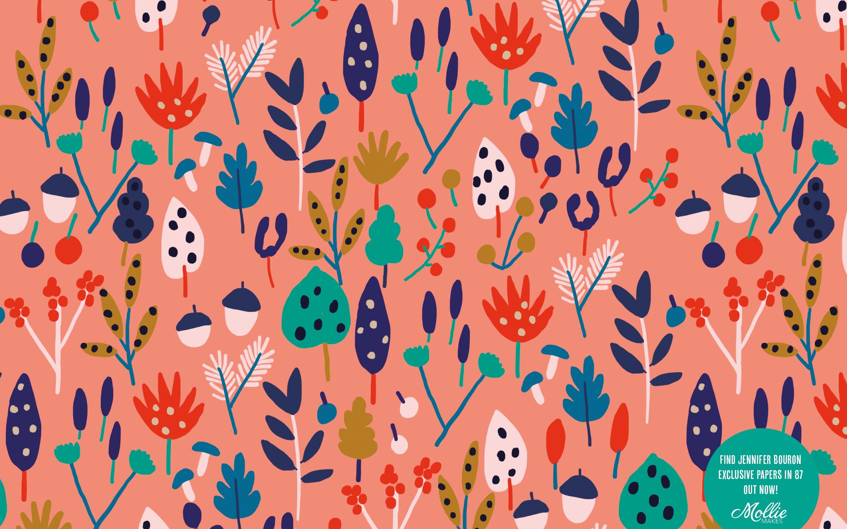 January Mobile Wallpaper And Desktop Background Mollie Makes Mobile Wallpaper Backgrounds Desktop Wallpaper