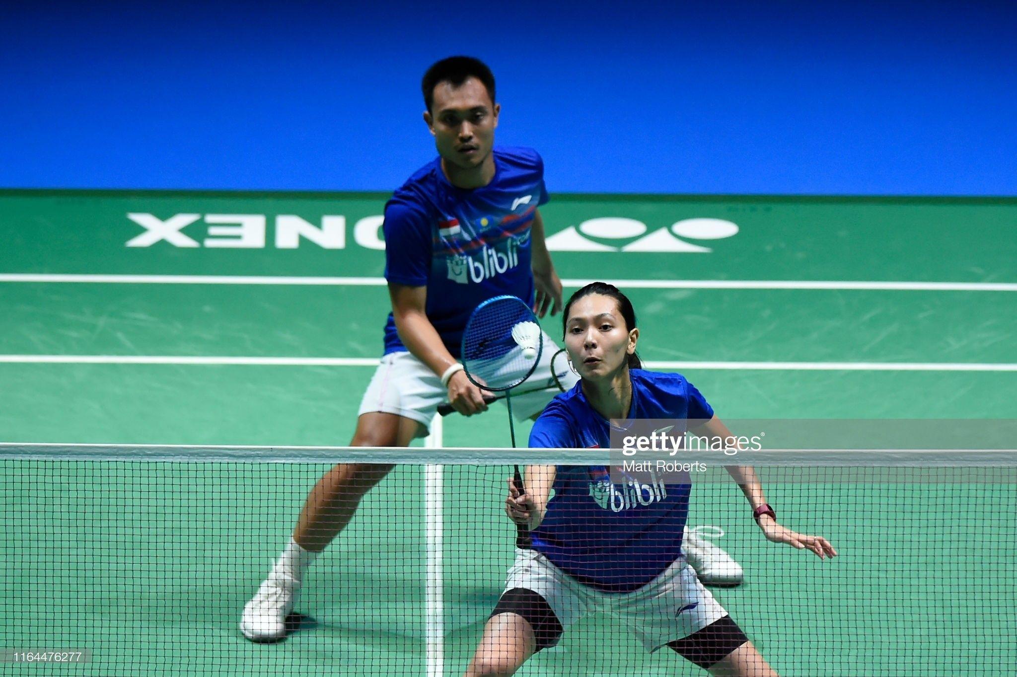 Pin Oleh Badminton Athlete Collection Di Mix Double