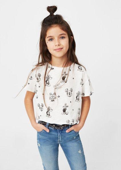 Mickey Mouse t-shirt | look girls | Pinterest
