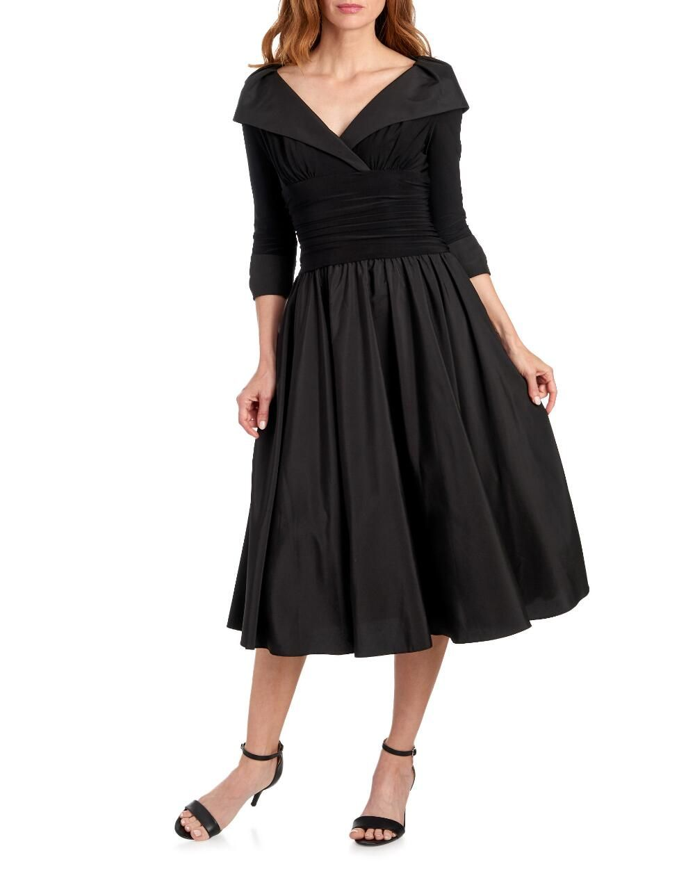 adefa7fa658 Portrait Collar Party Dress-Evening   Formal-Shop by Occasion-Dresses
