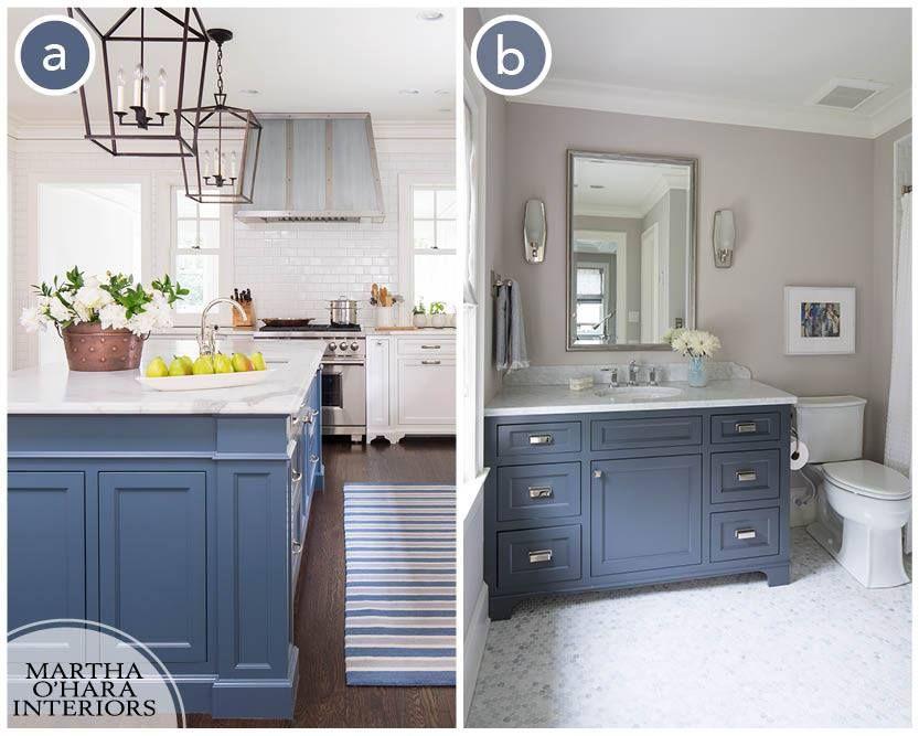 The Color Used In A Is Benjamin Moore Van Deusen Blue Hc