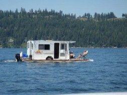 Photo of Lustiges Wohnmobil: Ist es ein Hausboot, Wohnmobil oder beides ?, #Lustiges #Hausboot #Büroraum