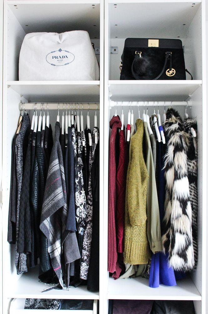Unique Interior Ankleidezimmer Kleiderschrank offenes System Einrichtung Ikea Pax Brini