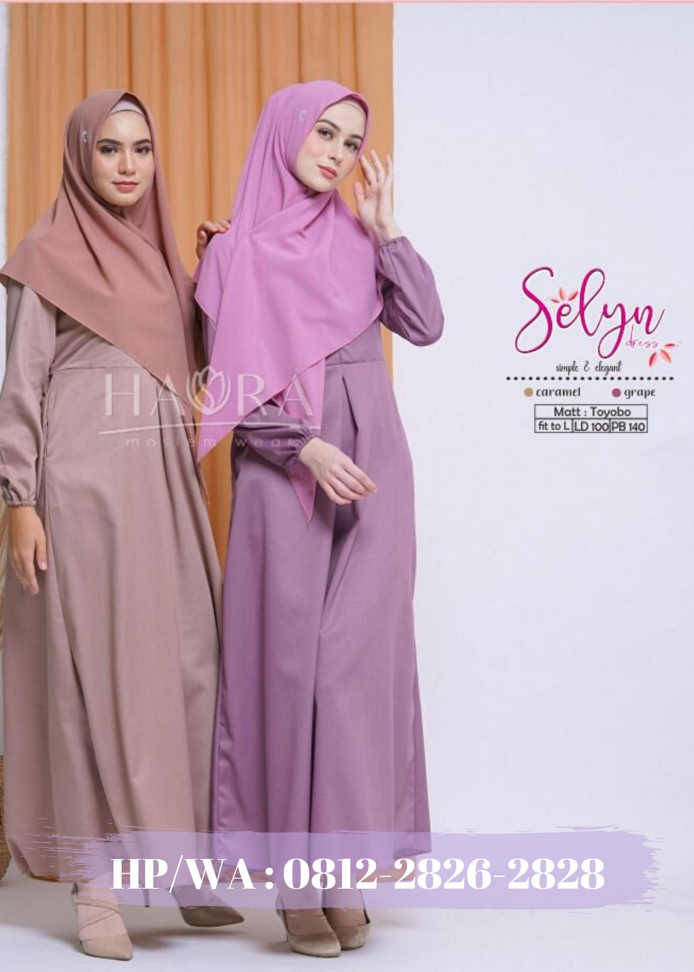 Produsen Gamis Tunik Hijab Malang Grosir Kaftan Baju Lebaran Khimar Malang Tunik Kaftan Wanita