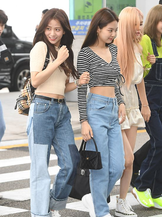 BLACKPINK Jisoo's Fashion Look at Incheon Airport on June 6, 2019 - CodiPOP #kpopfashion