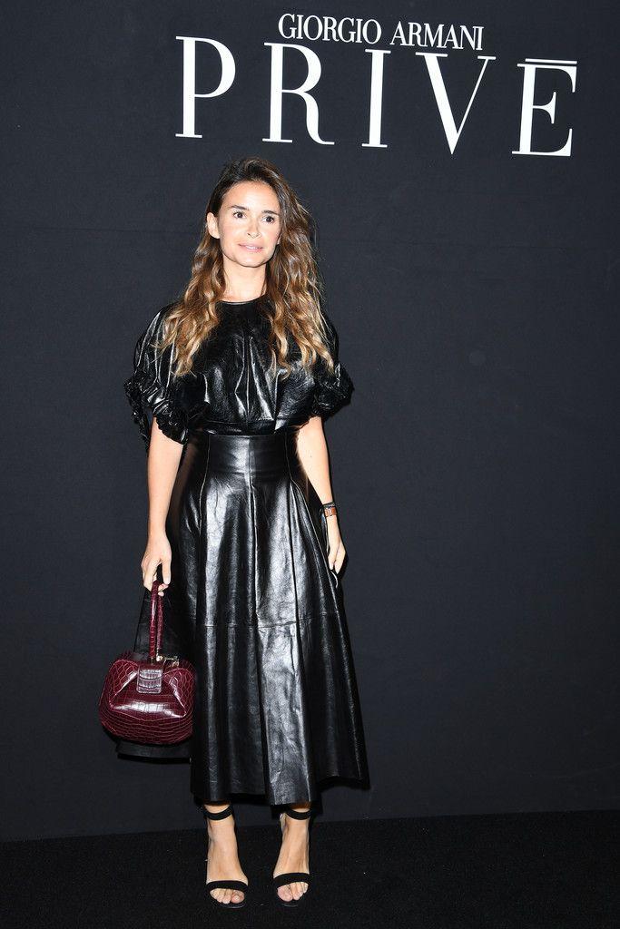 408c97a0859 Miroslava Duma Photos - Giorgio Armani Prive   Front Row - Paris Fashion  Week - Haute Couture Fall Winter 2016-2017 - Zimbio