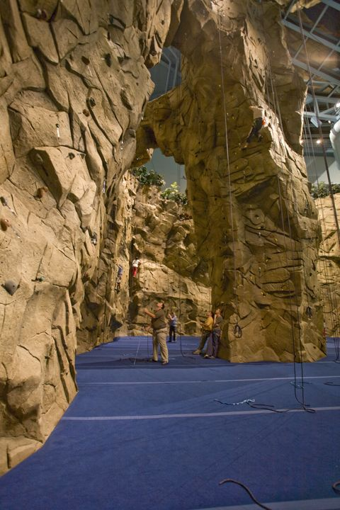 Pensacola Christian College FL Rock Climbing Gym