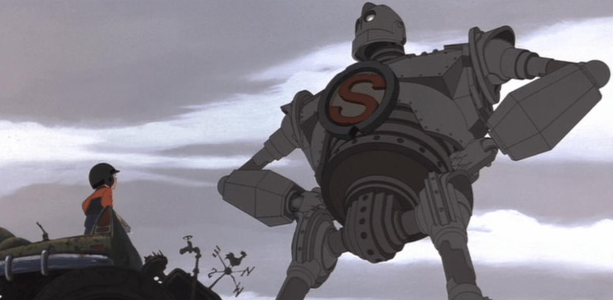 Il gigante di ferro un fantastico poster artistico per il film di
