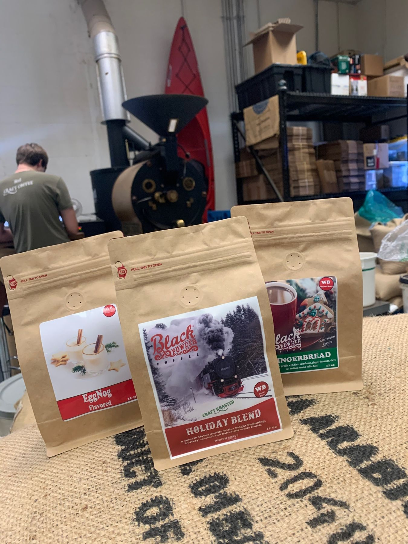 Holiday Trio Taste The Holidays With Black Powder Coffee We Have Our Limited Edition Special Releases For T Coffee Crafts Blended Coffee Holiday Blend