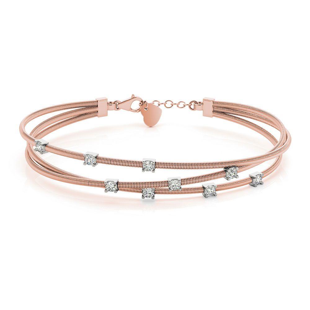 Italian design diamond bracelet in jewelry pinterest