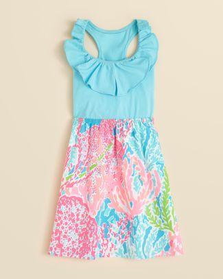 c833b7b6a78d1 Lilly Pulitzer Girls' Little Loranne Dress - Sizes 2-6 Bloomingdale's