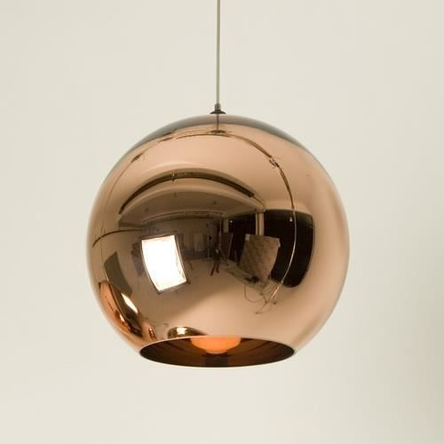Plafonnier Suspension Design HUGO CO Verre Cuivre Achat Vente
