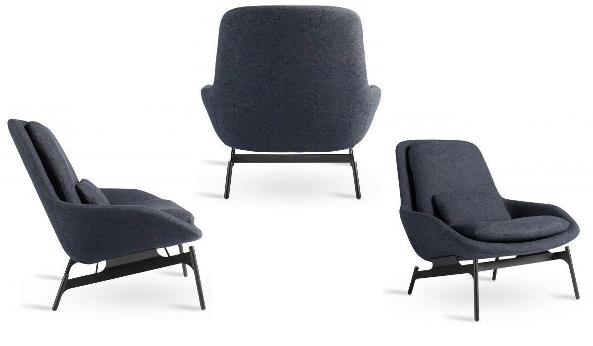 Best The Blu Dot Field Lounge Chair Viewed From All Angles 400 x 300