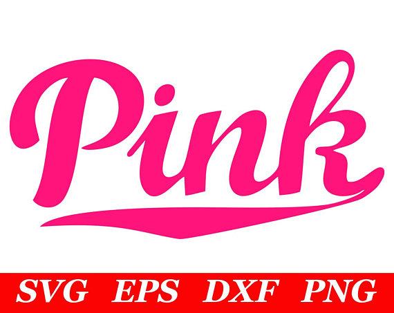 Love Pink SVG File Cricut Silhouette Iron On VS Dog