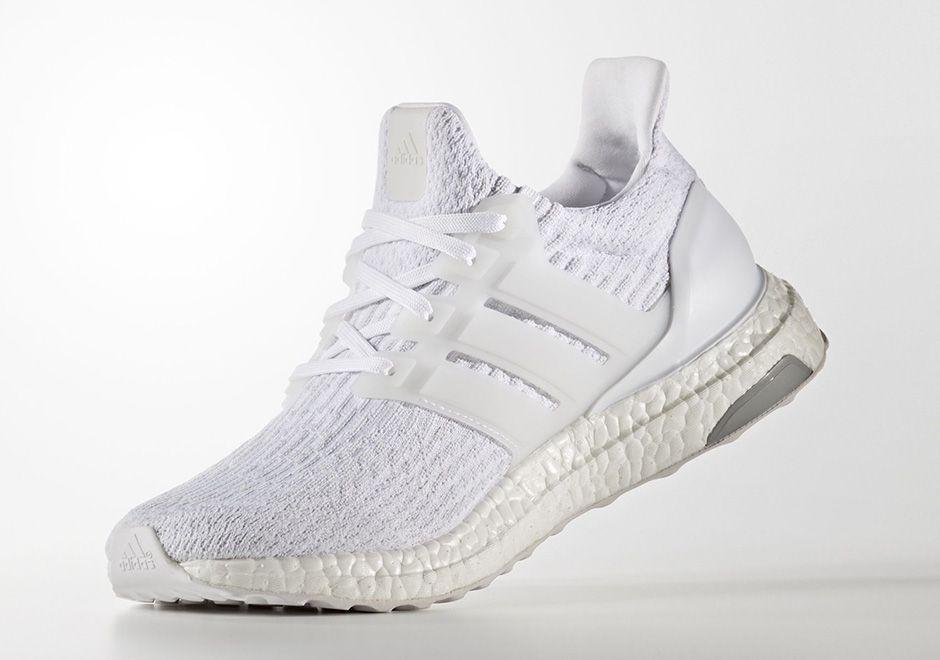 adidas ultra impulso triplo white (2017) adidas, calzature e