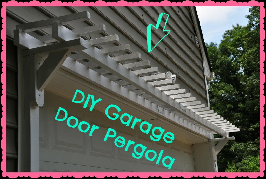 DIY garage door pergola tutorial | Diy garage door, Door ...