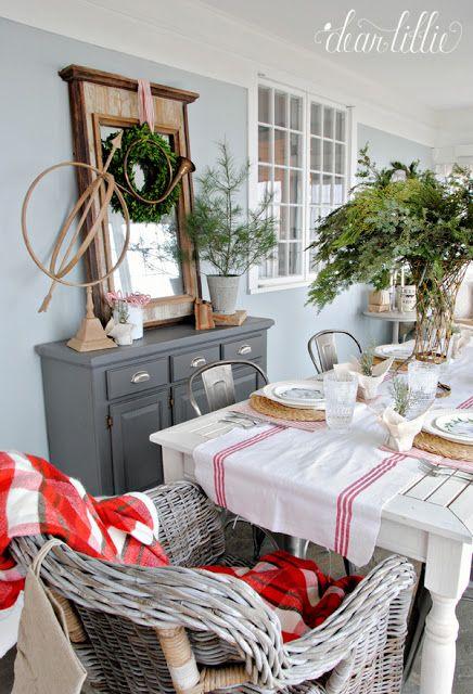 Dear Lillie Christmas Sunroom At Bluestone Hill Dear Lillie Cool Furniture Farmhouse Style Christmas Autumn sunroom at bluestone hill