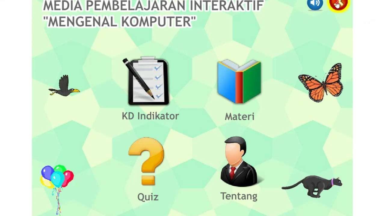 Download Template Media Pembelajaran Interaktif Kuis Pilihan Ganda