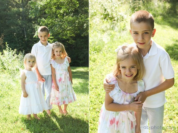 Roswell GA Family Photographer | ABJ Photography | outdoor family photos