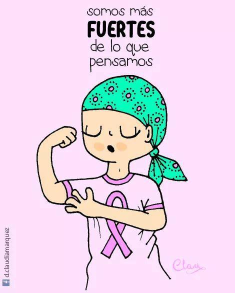 Somos Fuertes Dia Contra El Cancer Lucha Contra El Cáncer Dibujo Para Mama
