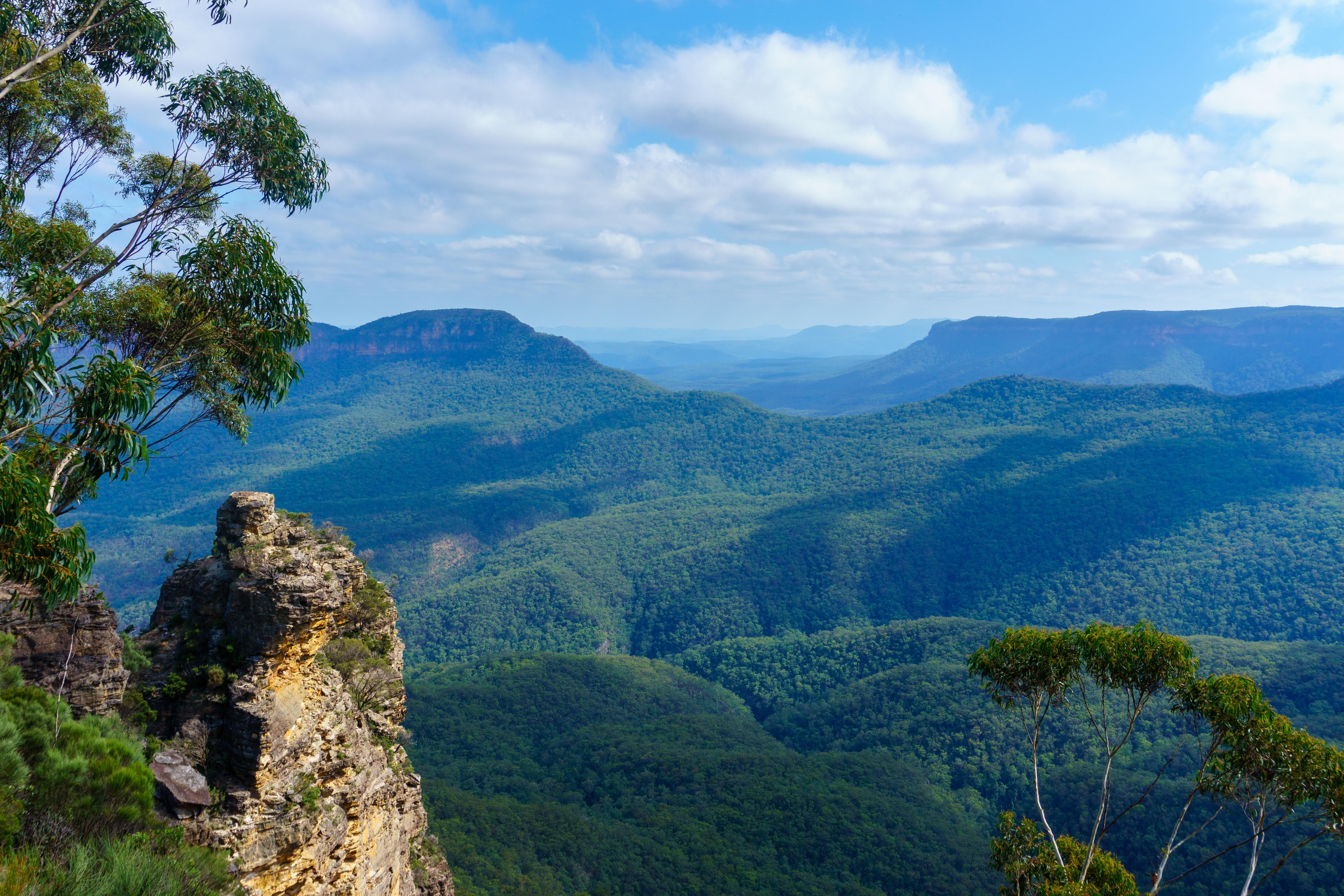 The Blue Mountains Are Actually Blue 6000x4000 Landscape Pictures Beautiful Nature Landscape Photography