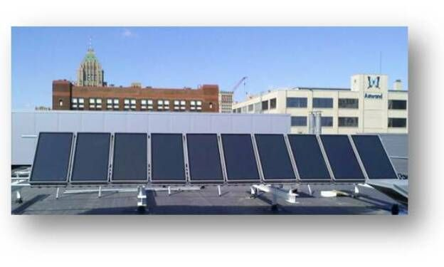 Solar Panels Made Of Recycled Materials That Capture Both Heat And Electricity Awesome Solar Panels Roof Solar Panel Outdoor Projects