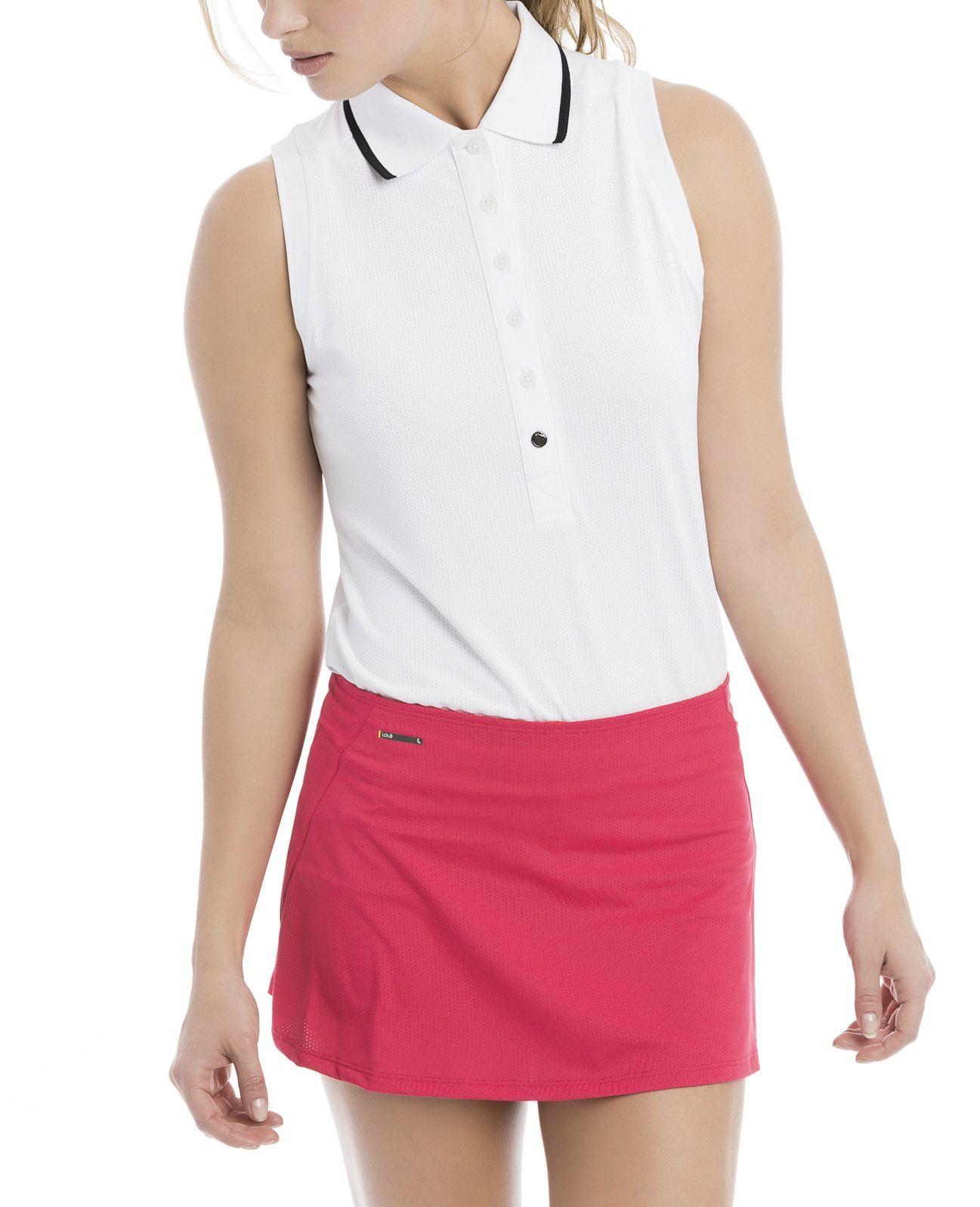 Lole clarisa sleeveless polo shirt outfits pinterest for Plus size sleeveless golf shirts