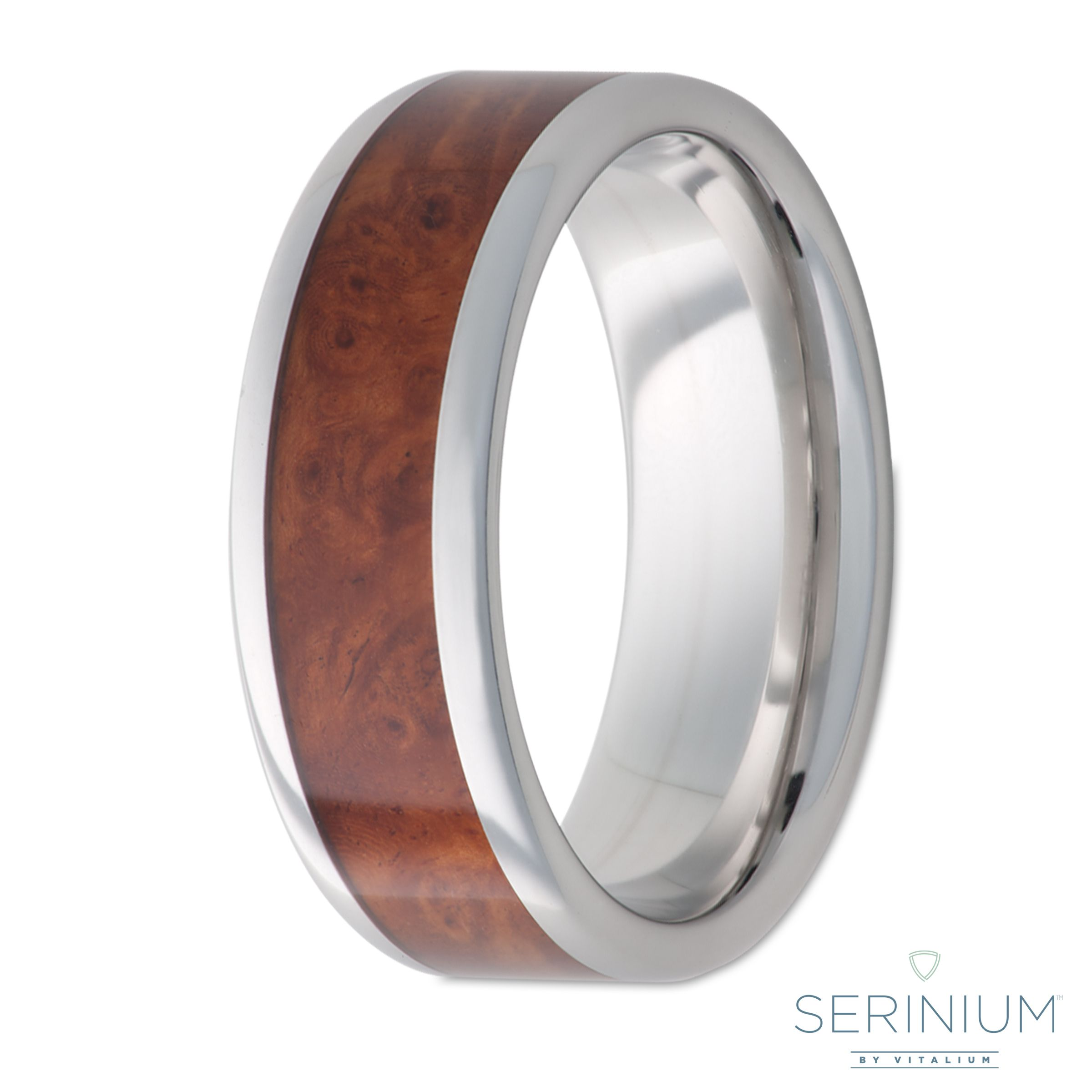 serinium mens wedding ring the precious contemporary metal - Hypoallergenic Wedding Rings