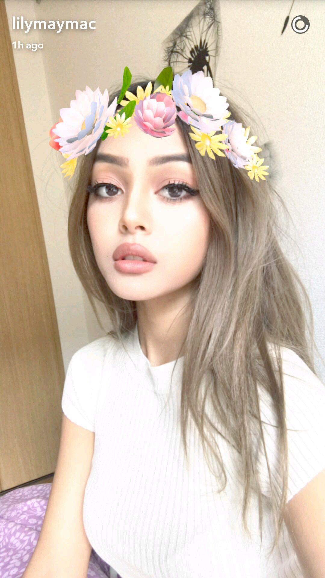 Snapchat Lily Maymac nude photos 2019