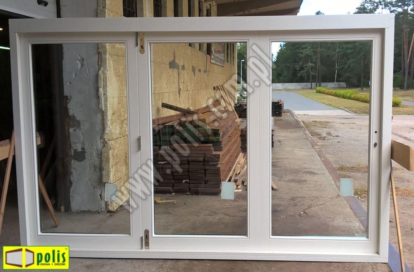 Drzwi Tarasowe Harmonijkowe Otwierane Na Zewnątrz Bi