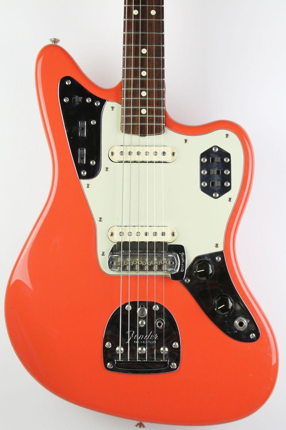 Fender Jaguar, Fiesta Red | thunder road guitars | Guitar ...