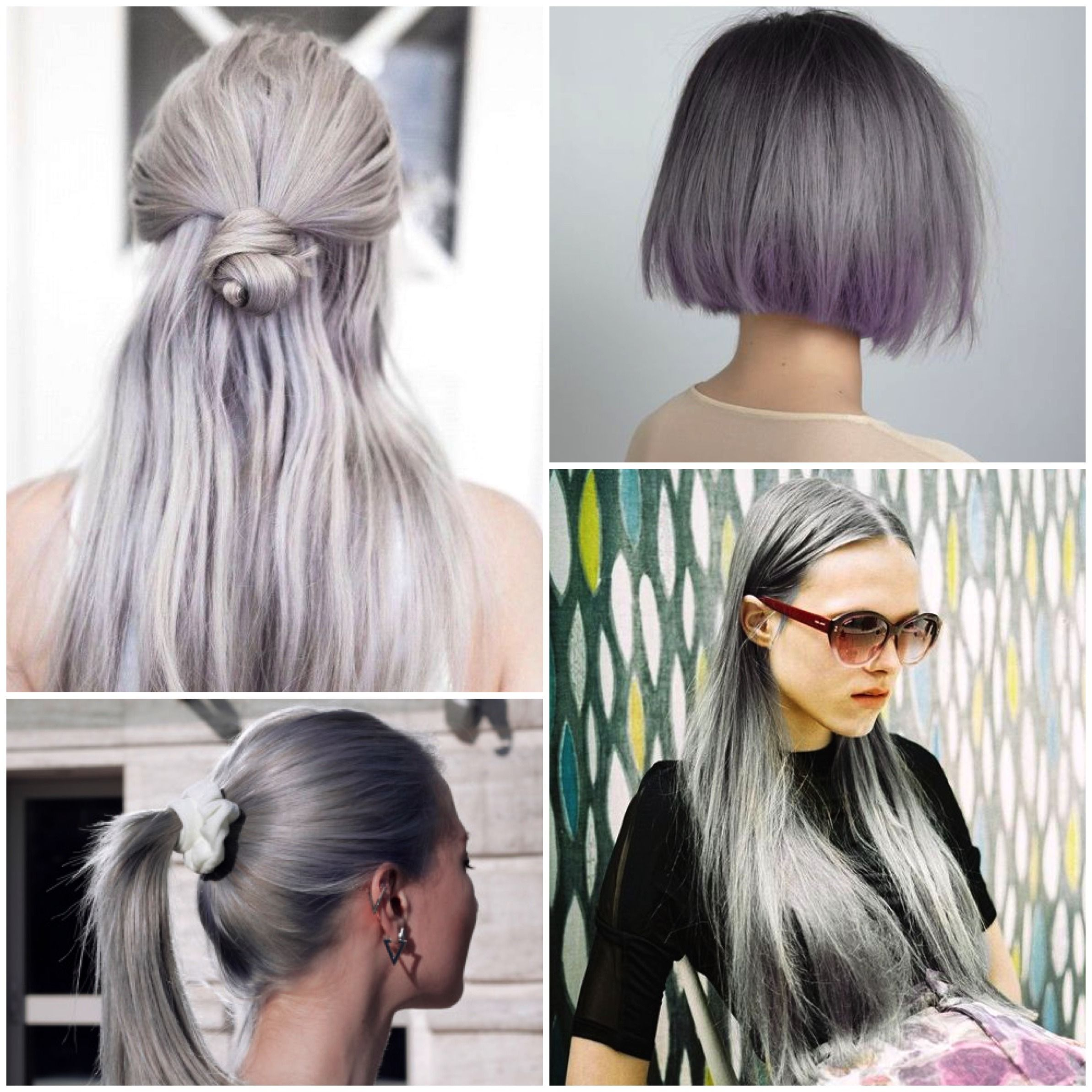 1 bundle 8a granny silver gray ombre brazilian virgin remy hair granny gray silver human hair extensions 181 httpsishair pmusecretfo Image collections